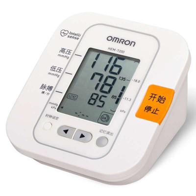 欧姆龙电子血压计hem-7200