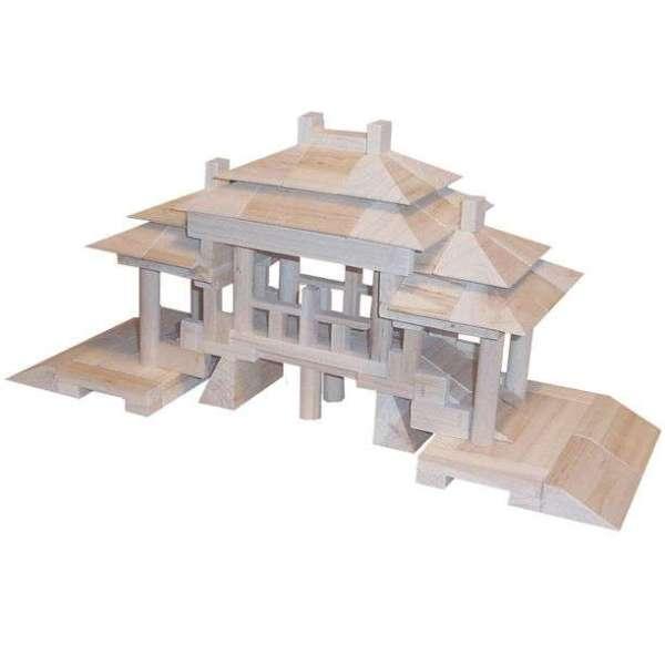 积木铲车组装结构图