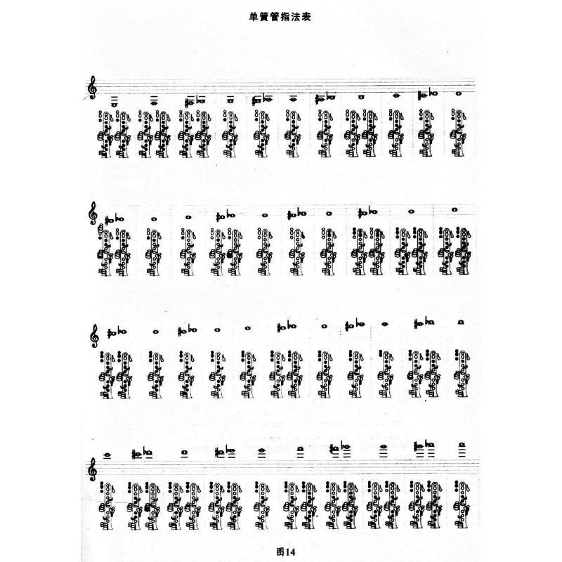 菩萨蛮单簧管谱子
