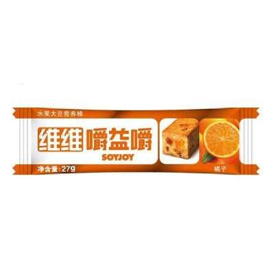维维嚼益嚼能减肥_soyjoy维维嚼益嚼水果大豆营养棒(橙子味)27g*12支