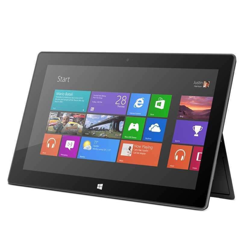 微软Surface 10.6英寸平板电脑 32G(不含键盘)钛黑色 7XR-00008
