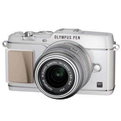 OLYMPUS 奥林巴斯 E-P5 微单套机 14-42mm手动变焦镜头套机 银色 2899元包邮