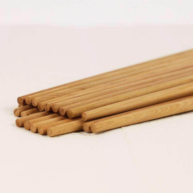 高档木质纯天然红豆杉筷子