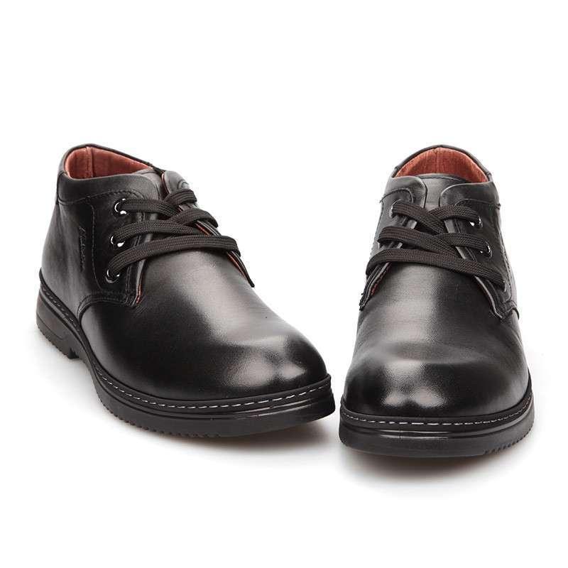 木林森男鞋系带 2013冬季保暖真皮棉鞋短靴子男 韩版高帮鞋皮鞋潮