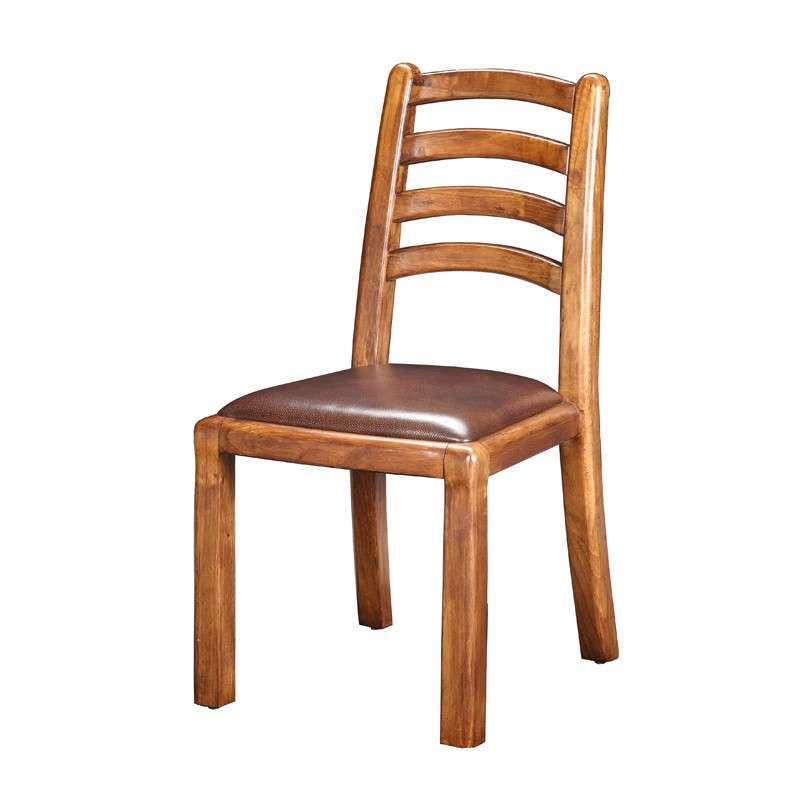 惠宜亚花梨实木家具真皮餐椅实木餐椅 图片色高清实拍图