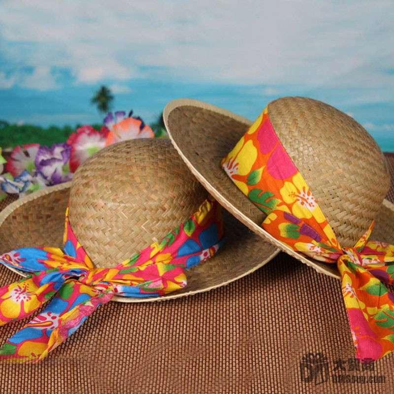 太阳帽遮阳帽编织帽子-jb00025