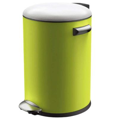 欧式家用静音不锈钢垃圾桶