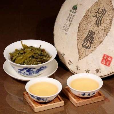 【五百年古树茶系列】 2013年新益号冰岛古树 普洱茶 生茶 357g
