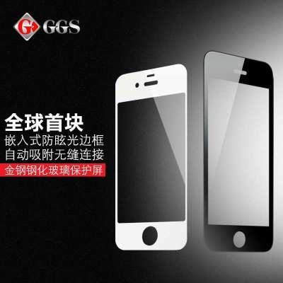 ggs金钢iphoto5手机钢化玻璃膜