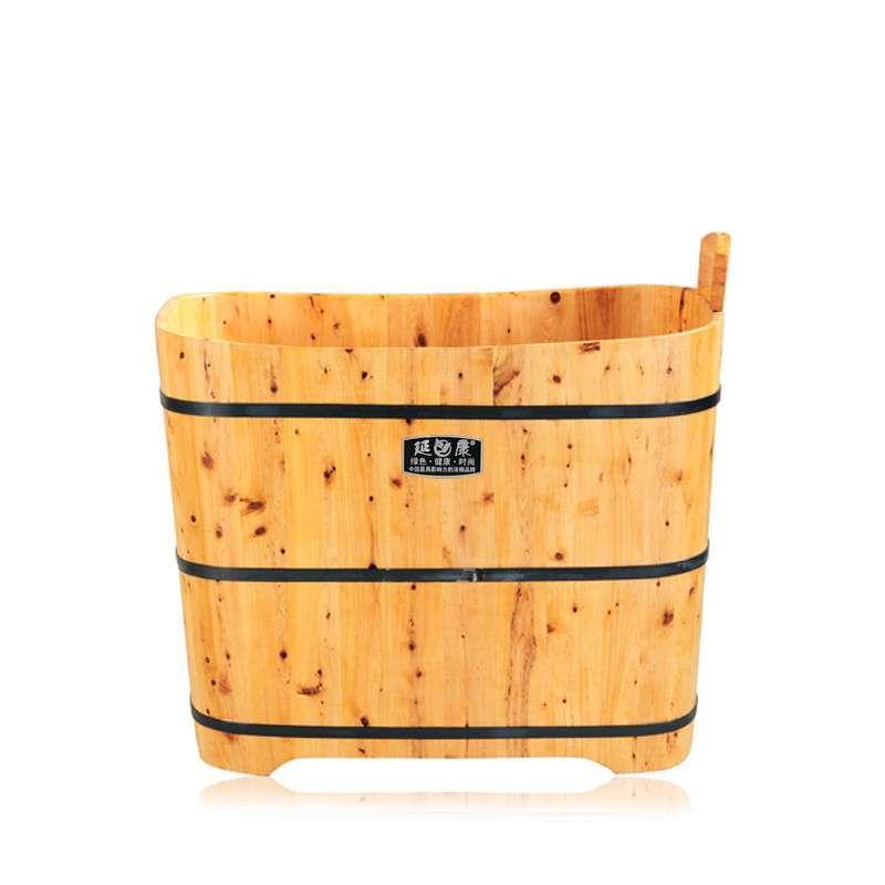 延康木桶 经典长方形浴桶