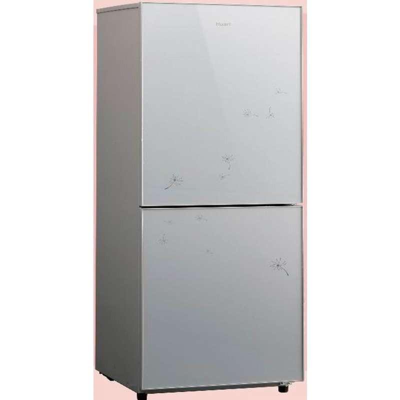 华日冰箱BCD-206AE/M飘逸银