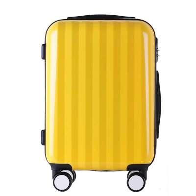 行李箱登机箱子拉杆箱万向轮男女潮20寸24寸28寸 黄色 28寸【飞机大轮