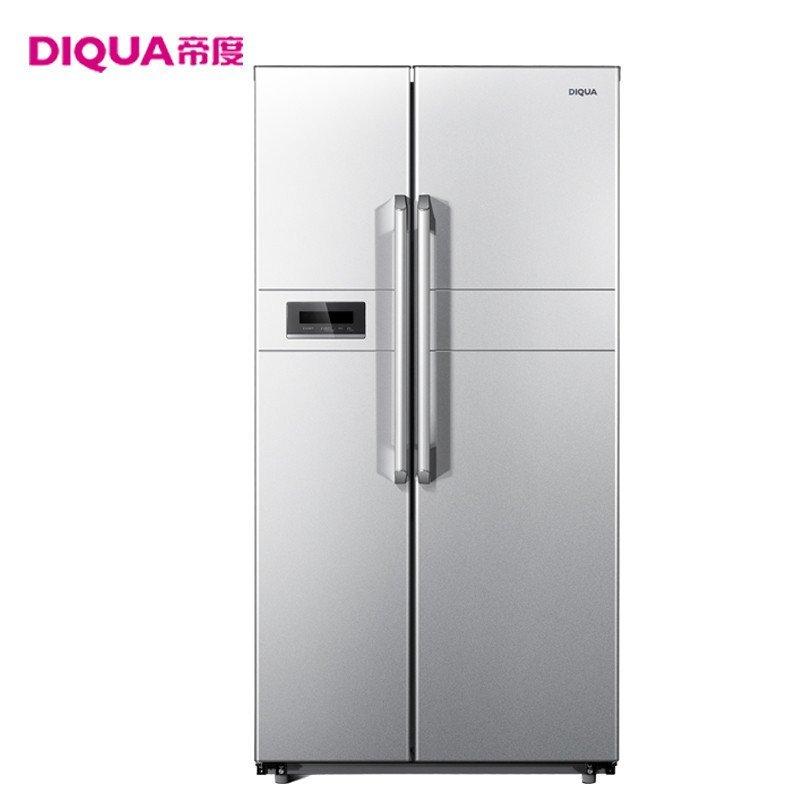 帝度(DIQUA) BCD-603WDA 603升风冷对开门冰箱(亮光银色)