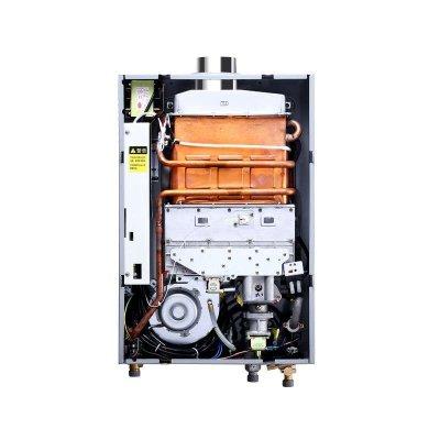 万和燃气热水器安装图图片