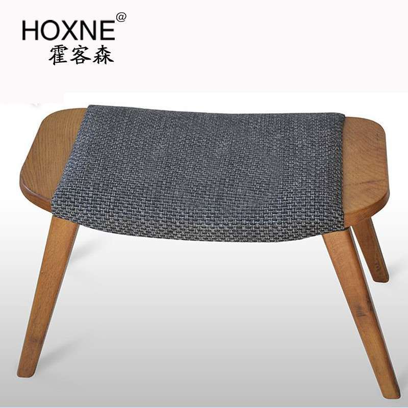 创意设计师椅子实木白橡木
