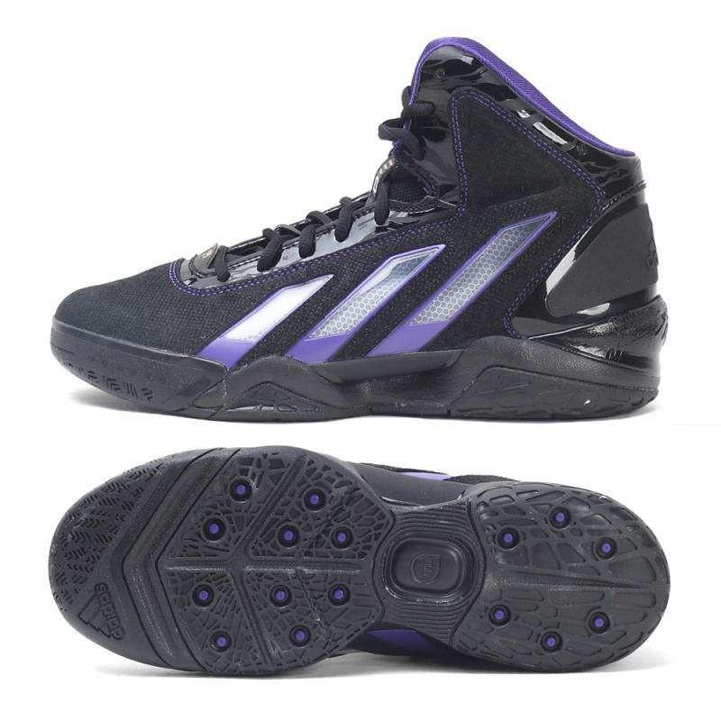 adidas阿迪达斯霍华德签名款男子篮球鞋g66936 黑色 42