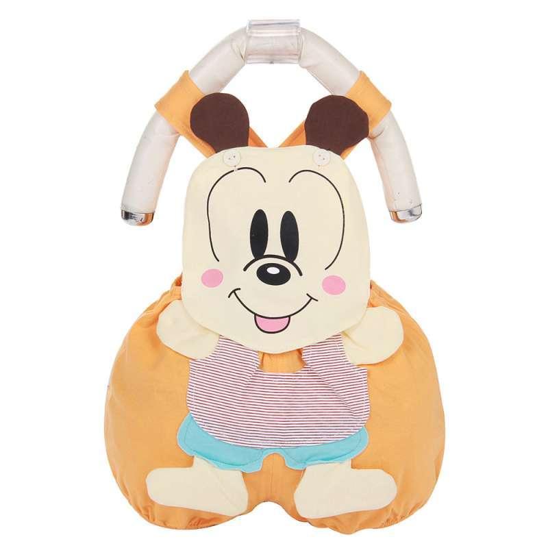 琦多星 夏季宝宝纯棉背带裤卡通可爱造型衣婴儿衣服连体衣卡特连体衣