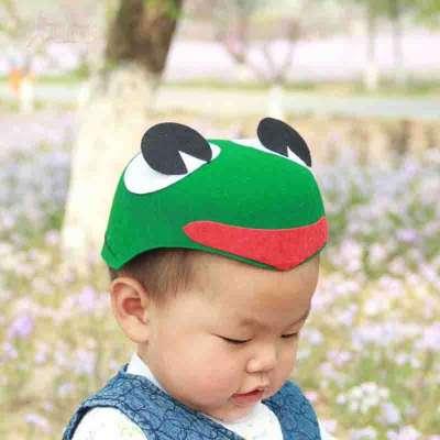 青蛙头饰图片卡通