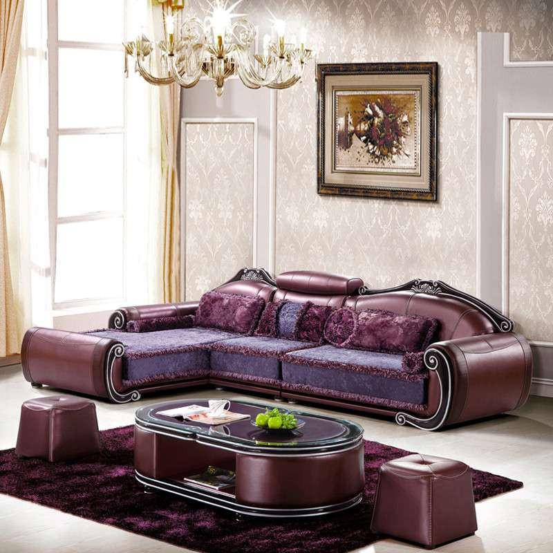 欧式布料贵妃沙发图片大全