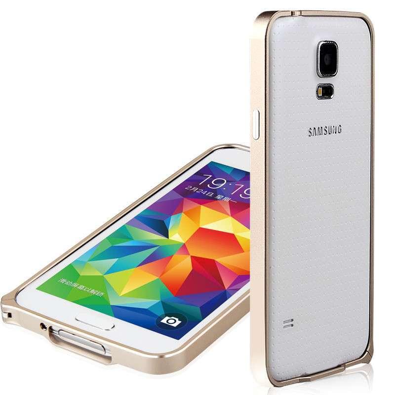 妙凡(meauvan)三星s5手机套 s5手机壳 s5手机保护套 galaxys5金属壳