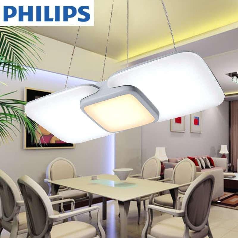 飞利浦灯led吊灯灯具现代简约创意餐厅灯客厅欧式吊灯丁香灯60134