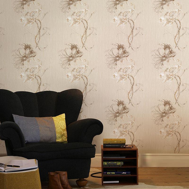 【米素墙纸/墙布】米素壁纸 美式墙纸 约克风卧室客厅