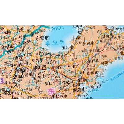 中国地图挂图1.5米x1.