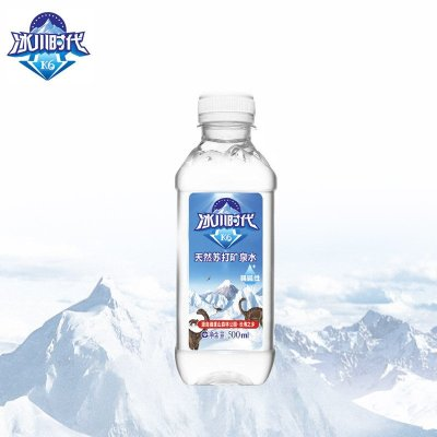 冰川时代k6天然苏打水矿泉水无气弱碱性饮用水500ml*