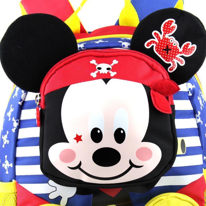 迪士尼米奇儿童书包男童幼儿园小班女童宝宝中班可爱