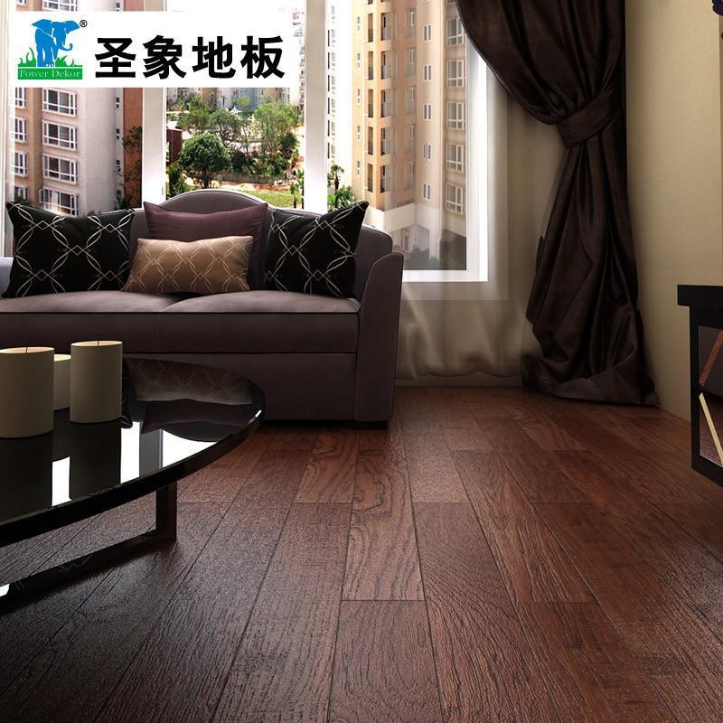 【圣象地板官方旗舰店地板】圣象康逸树码芯实木复合
