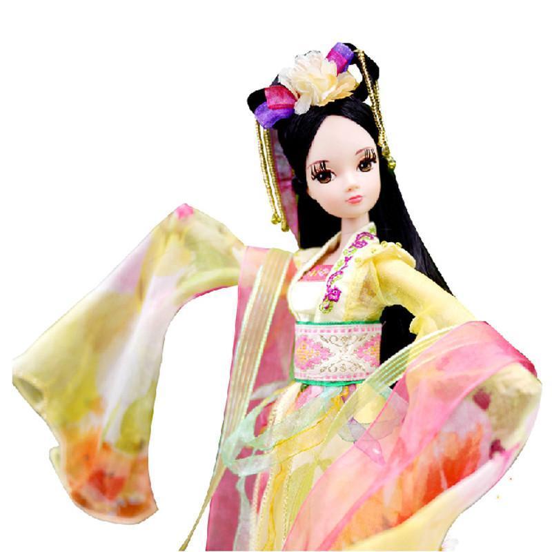 可儿娃娃嫦娥奔月古装衣服关节体芭比生日礼物儿童洋