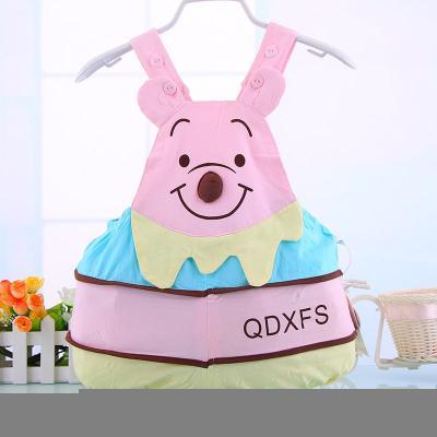 超可爱宝宝小熊型哈衣 夏装新生儿爬服 婴儿衣服连体衣纯棉衣服 粉色