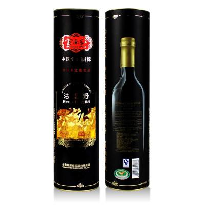 云红酒庄/云南红法国野全汁干红葡萄酒/750ml圆筒装