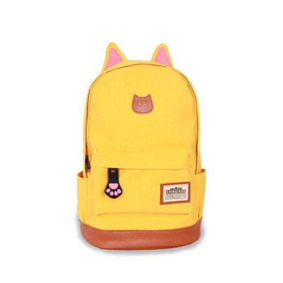 范特丝蒂fantasty新款韩版时尚猫耳朵猫爪卡通可爱双肩包潮流女包学生