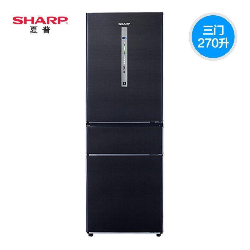 夏普冰箱BCD-270WVF-B
