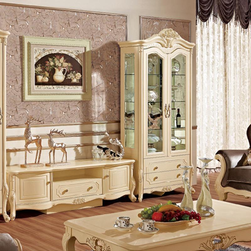 法丽莎家具g9欧式电视柜组合厅柜欧式酒柜双门单门