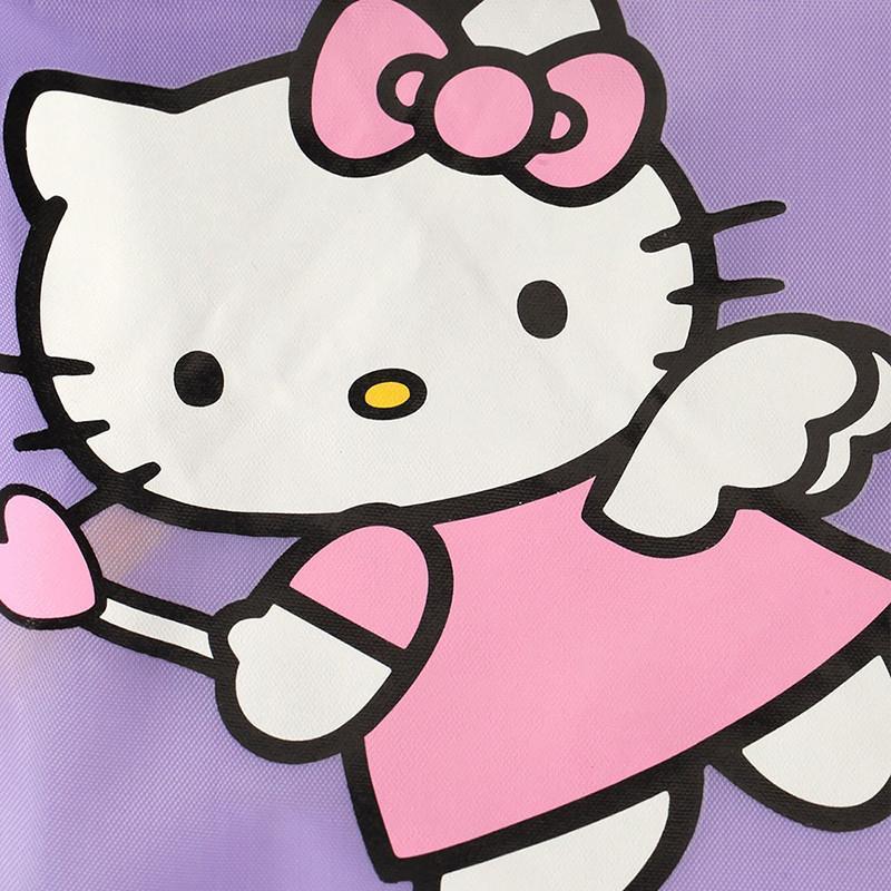 kitty)个性围裙儿童画画衣罩衣绘画
