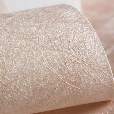 布蚕丝工艺壁纸