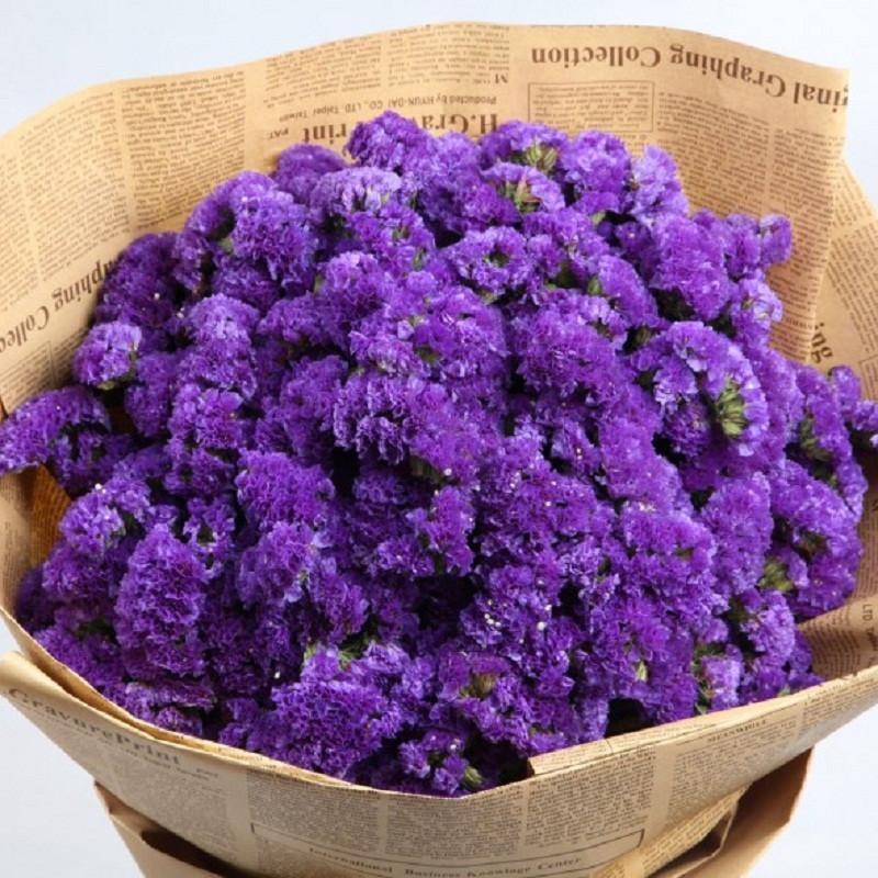 紫色勿忘我花束