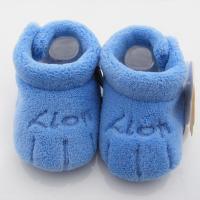 金童冕冬季棉鞋珊瑚绒松口宝宝鞋初生儿必备鞋