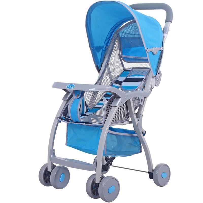 宝宝好711/722儿童推车轻便型可躺可折叠婴儿四轮手