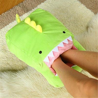 趣玩 超萌超可爱小怪兽毛绒usb暖脚宝抱枕 怪兽