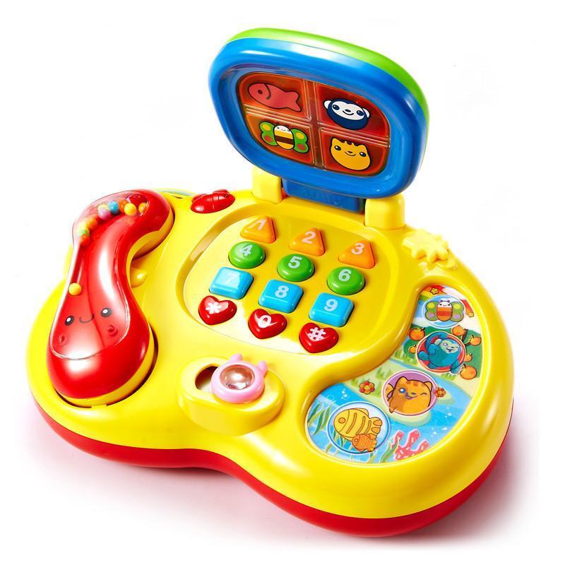 澳贝 宝宝启智学习电话 婴幼儿早教益智 儿童玩具礼物463414