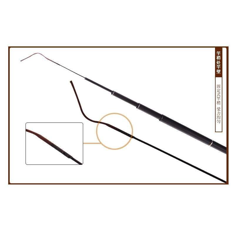 特价东岛醉仙鲫3.6/4.5/5.4米超轻碳素台钓竿鱼竿渔具
