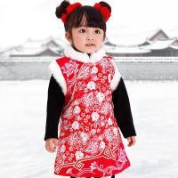 童乐谷2576女宝宝图纸a宝宝配筋旗袍新年礼梁建房自儿童唐装地图片