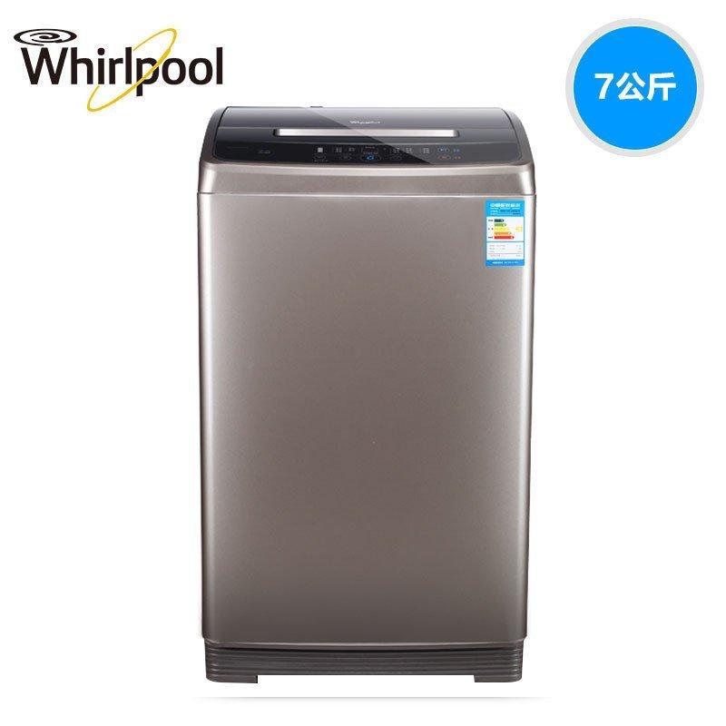 惠而浦(Whirlpool)WB70803B 7公斤全自动变频波轮洗衣机(惠金色)