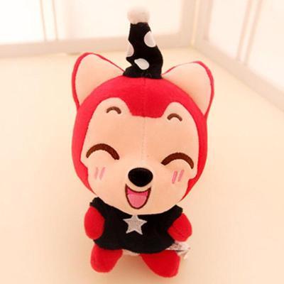 ali阿狸 梦幻魔术帽情侣卡通毛绒玩具公仔 可爱布娃娃 感动24寸58cm