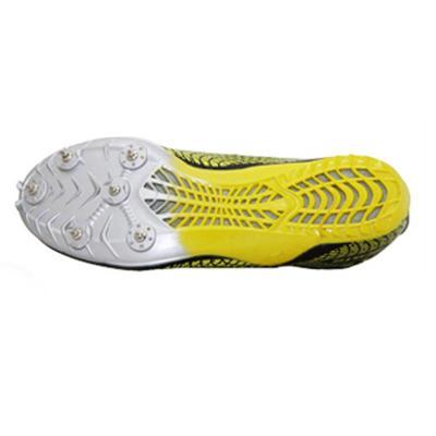 钉鞋囹�a_health/飞人海尔斯113 跑钉鞋 田径训练钉子鞋 比赛指定跑鞋 黄色 43