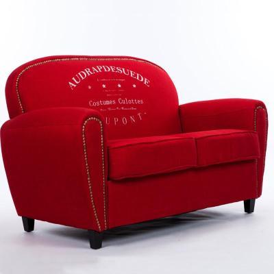 欧式复古沙发 客厅单人位沙发 时尚休闲沙发 卧室阳台布艺沙发休闲椅