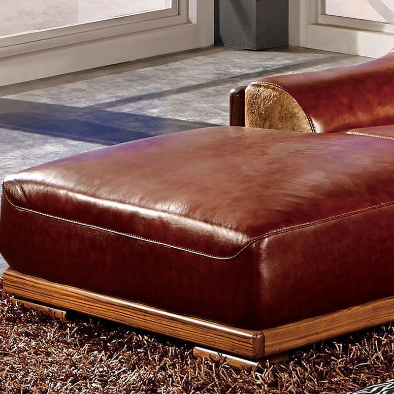 乌金木沙发l型